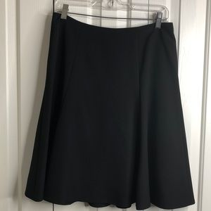 3/$15 Liz Claiborne 8P black stretchy skirt EUC
